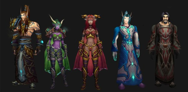 dragon aspects humanoid forms Age of Dragons