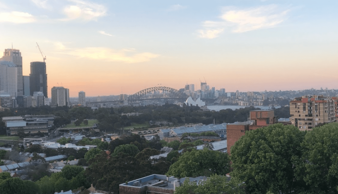 Sunrise, waking up early, sydney
