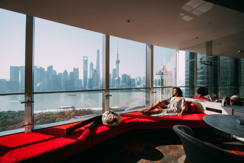 W Shanghai bedroom