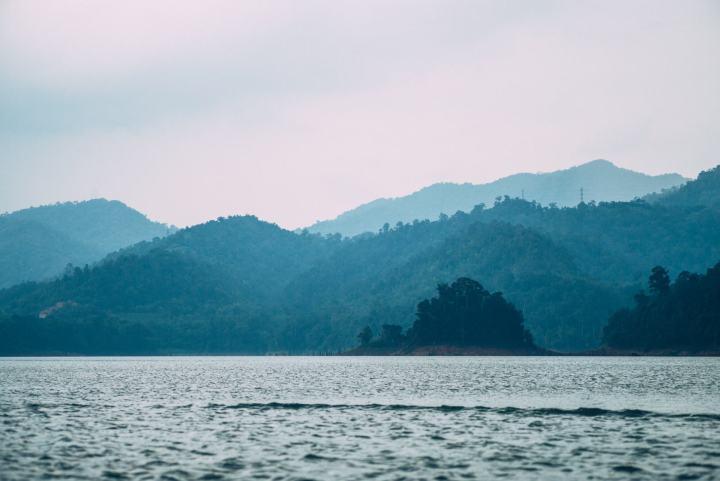 Gerik landscape lake