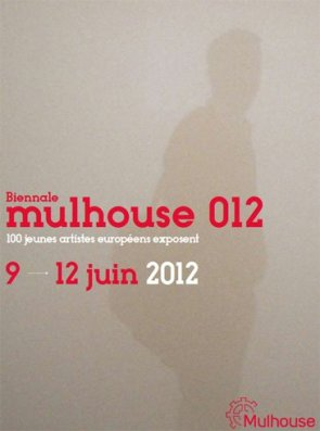 affiche biennale mulhouse 012 art contemporain