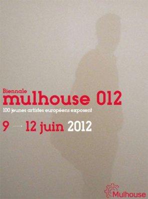 affiche biennale mulhouse 012 art contemporain