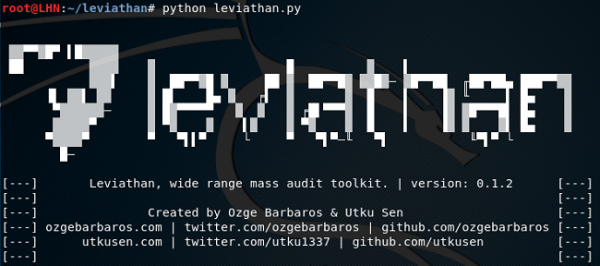 Cynergy Solutions Sdn Bhd – Leviathan – Mass Audit Toolkit for