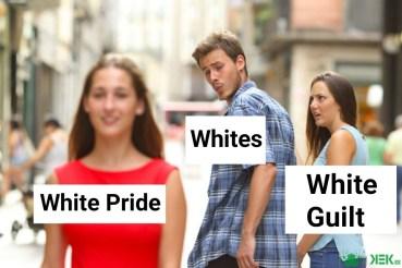 white pride v guilt