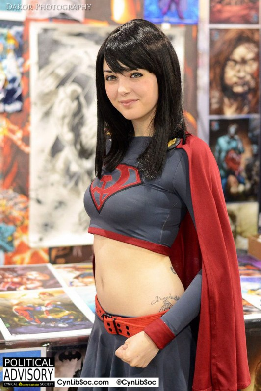 Soviet Supergirl is here for your guns. I'd give her my gun.
