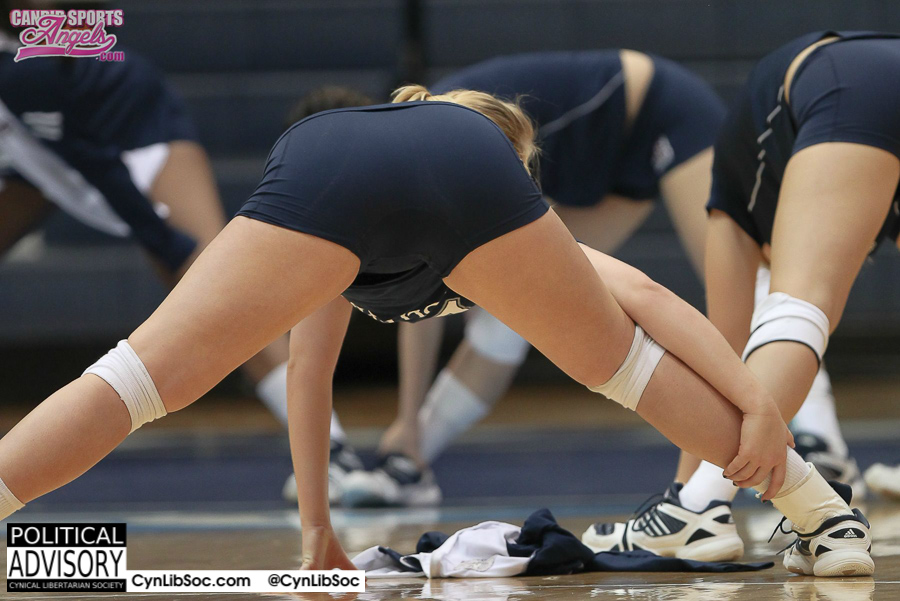 Volleyball girls should be taken seriously.