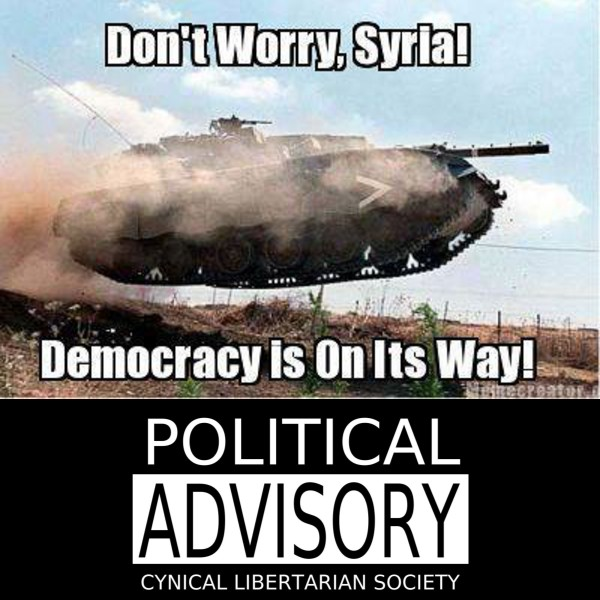 democracy is on the way