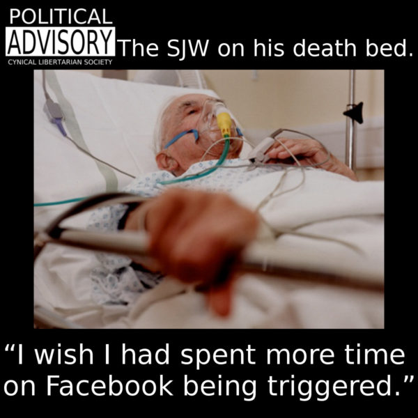 the dying SJW - cls