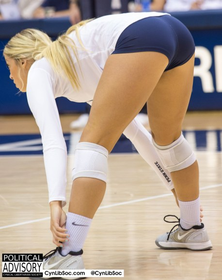 What The Great One thinks volleyball chycks should look like.