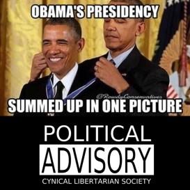 obama gives award to obama - cls