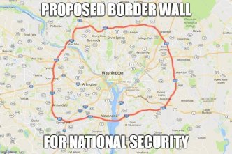 boarder wall for security