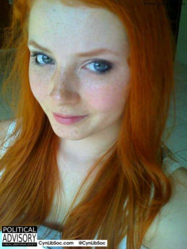 I care about redheads. And they care about me.