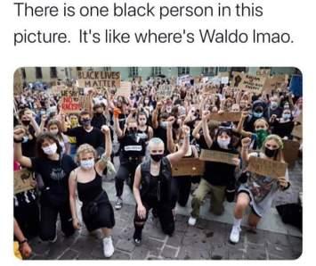 one black no men