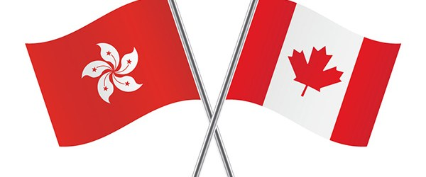hong kong, canada, flags, first generation canadian, immigrant, canadian