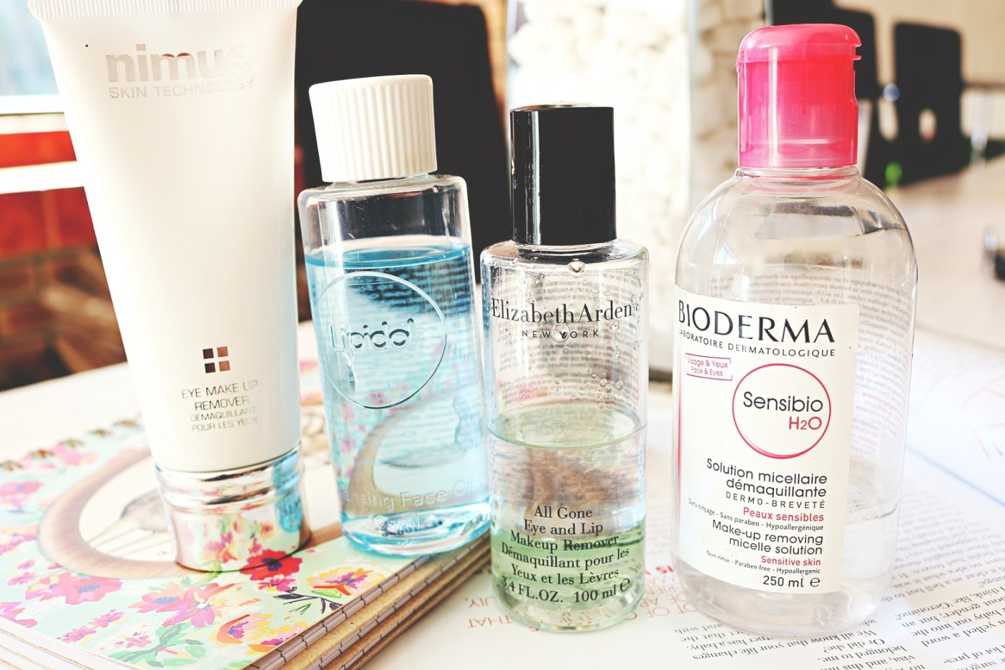 4 Make-Up Removers Worth Your Time