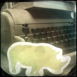 Typewriter Obsession - Cynthia Lowman