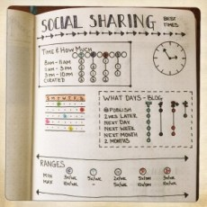Bullet Journal Social Sharing Info