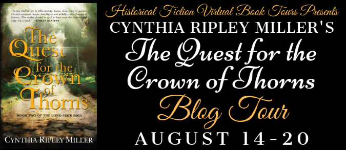 Quest for the Crown of Thorns Blog Tour