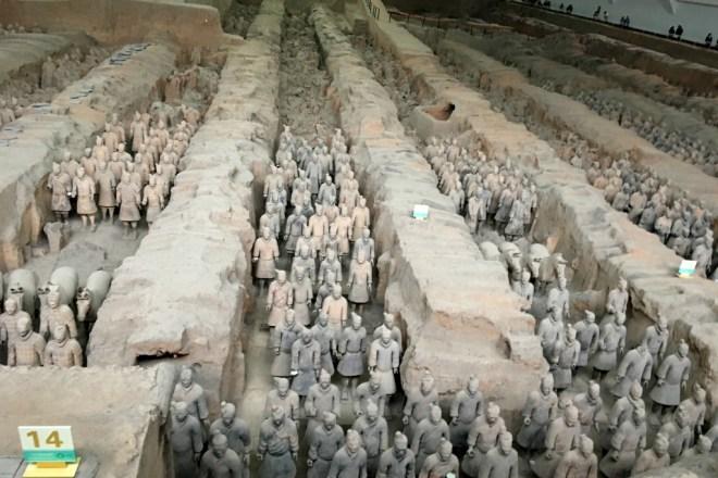 Tomb of Emperor Qin Shi Huang (259 BC - 210 BC)
