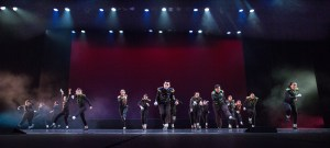 Dancers on stage