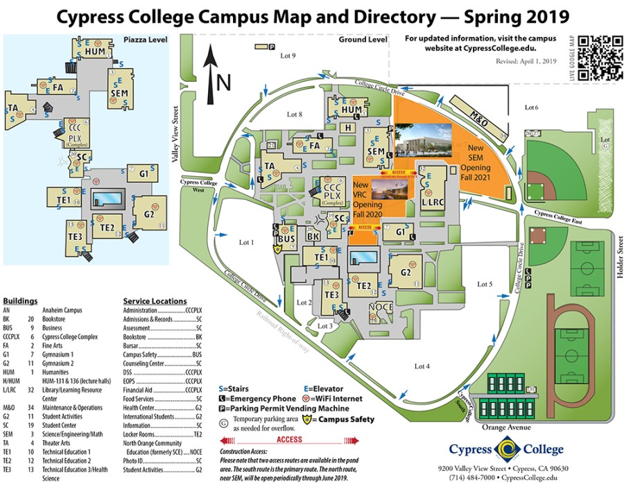 Campus Map & Directions – Cypress College on texas map directions, map projection, aerial photography, satellite imagery, set of directions, contour line, early world maps, maps get directions, book of directions, road map directions, global positioning system, geographic information system, geographic coordinate system, global map, custom map directions,