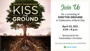 Kiss the Ground movie screening with tree
