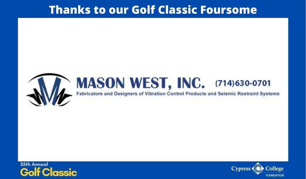 Mason West, Inc logo and phone number
