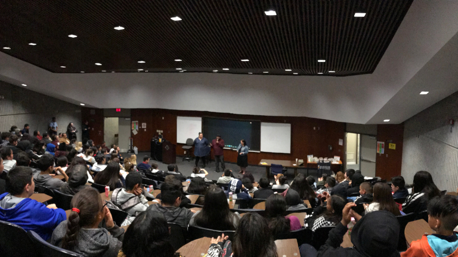 Black History Month presentation at Cypress College