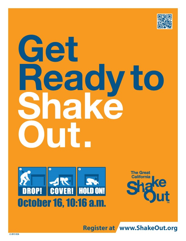 ShakeOut Drill Flyer