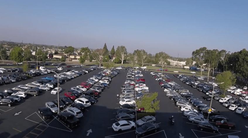 Parking Cypress College