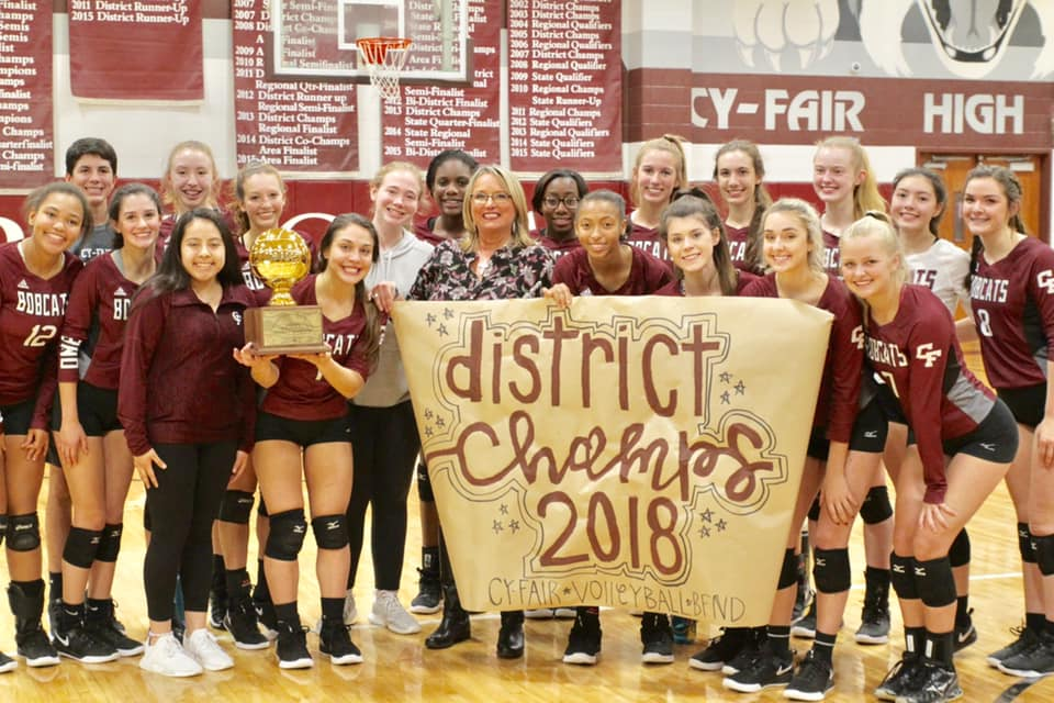 Cy Fair Cy Creek Cy Ranch Langham Creek Spikers Advance To 2018 Playoffs Cypress News Review
