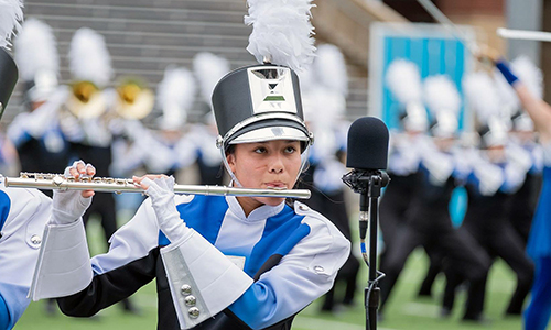 Cypress Creek High School junior Kendra Schmeig was among six Cougars named to the Texas Music Educators Association All-State ensembles, with Schmeig making the band. (CFISD courtesy photo)