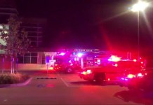 The Cy-Fair Volunteer Fire Department was on the scene as a gas leak was found at CFISD HS #12 High School around 7 p.m., Jan. 23, 2019. The leak's source was found and shut down and Center Point was called to assist. (CFVFD image)