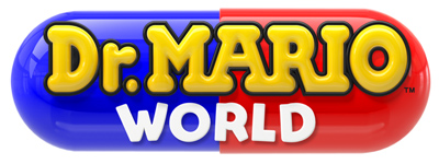 Dr Mario World smartphone game logo