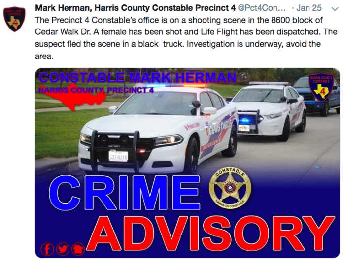 Pct. 4 Constable officers and Harris County Sheriff deputies need your help to catch the suspect in a Tomball murder.