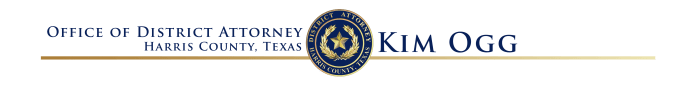 Harris County District Attorney Kim Ogg office