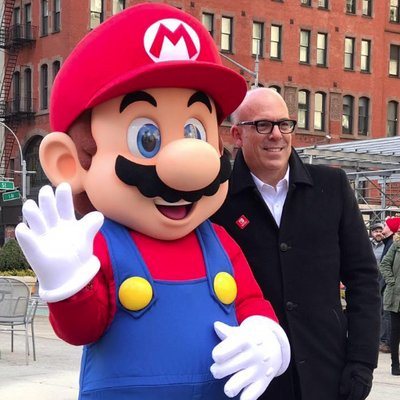 Mario and Doug Bowser. (Courtesy photo)