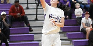 Jersey Village High School senior Kaylynne Truongwas named the District 17-6A girls' basketball Most Valuable Player. (CFISD courtesy photo)