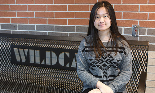 Cypress Woods High School junior Angela Zhong recently earned two national honors through the National Speech & Debate Association. She was named a finalist for the association's Exemplary Student Service Award and selected to the 12-member USA Debate Development Team. (CFISD courtesy photo)