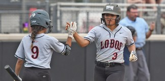 Langham Creek High School graduate April Espinoza (No. 3) was among the 17 CFISD student athletes named to the Texas Girls Coaches Association Class 6A Academic All-State teams in spirit, soccer and softball. (CFISD Communications courtesy photo)
