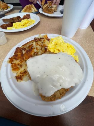 One of the many delicious dishes you can order at Roy's Breakfast and Lunch at 20220 FM 529, Cypress, TX 77433. (Cypress News Review photo by Creighton Holub)