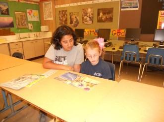 student tutoring