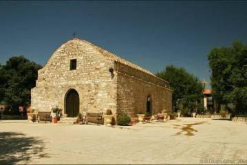 Monastery of Panagia Salamiotissa, 1km from the village of Salamiou