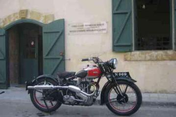 The Cyprus Classic Motorcycle Museum (within the walls) Nicosia
