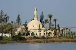 Τέμενος Ούμ Χαράμ στην Λάρνακα Πηγή: Κυπριακός Οργανισμός Τουρισμού Κυπριακής Δημοκρατίας