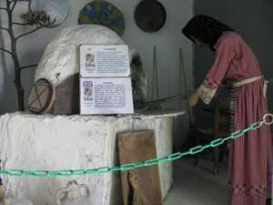 Wax Museum face in Skarinou