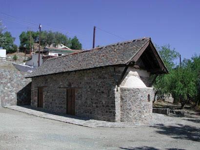 Church of Agios Mamas, Louvaras