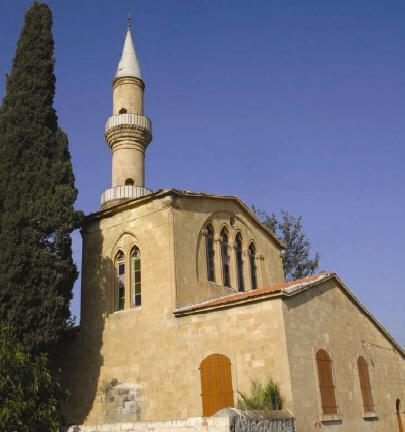 The mosque in the village of Peristerona