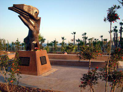Armenian Genocide Memorial, in Larnaka