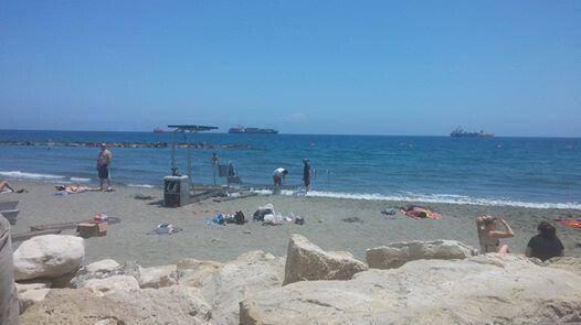 Accessible Beach Akti Olimpion Limassol